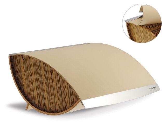 Legnoart cassetta portapane cabrio attrezzatura per cucina for Portapane alessi prezzo